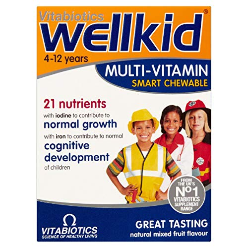 Vitabiotics Wellkid Multi-Vitamin Smart Chewable - 30 Tablets