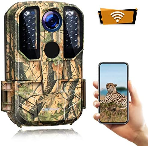 Campark Trail Camera WiFi 20MP 1296P Hunting Game Camera with Night Vision Motion Activated product image