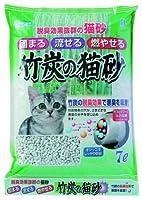 ボンビ 竹炭の猫砂 7L × 5個【まとめ買い ケース販売】