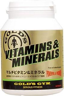 ゴールドジム(GOLD'S GYM) マルチビタミン&ミネラル 360粒