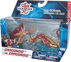 Bakugan Battle Brawlers Series 1 Duo Diorama 2 Pack Bakugan Brawl Mini Figure - Gargonoid vs Dragonoid