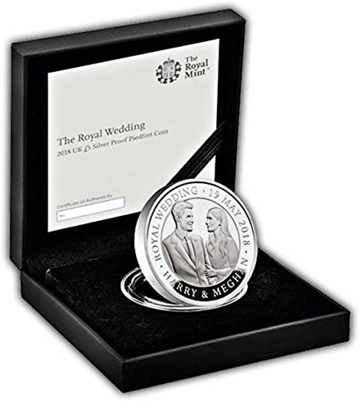 hasta un 65% de descuento The Royal Wedding 2018 UK £5 moneda de de de plata Piedfort  compra en línea hoy
