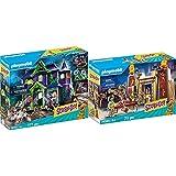 Playmobil Scooby-Doo! 70361 Aventura En La Mansión Misteriosa, con Efectos De Luz Y Sonido, A Partir De 5 Años + Scooby-Doo! 70365 Aventura En Egipto, A Partir De 5 Años