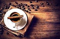 新しいJSCTWCLウッドジグソーパズル大人の子供のための1000個-コーヒーのカップ
