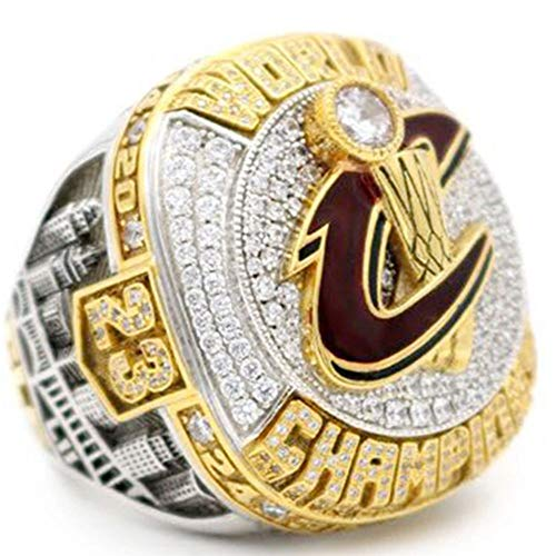 AONEW Cleveland Cavaliers 2016 Championship Ring Collectible Replica Jewelry Without Display Case Size 11