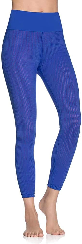 Maaji Double Dream MESH Azure Reversible HIGH Rise 7 8 Legging