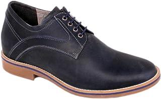 Max Denegri Zapato Casual Culture Azul 7cms De Altura