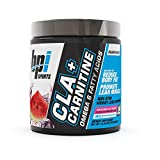 BPI Sports CLA + Carnitine – Conjugated Linoleic Acid – Weight Loss Formula – Metabolism, Performance, Lean Muscle – Caffeine Free – For Men & Women – Watermelon Freeze – 50 servings – 12.34 oz
