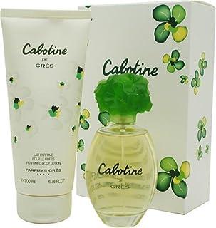 Cabotine De Gres 2 Stk. Geschenk-Set ( Eau De Toilette Spray 3.4 Oz + Perfumed Body Lotion 6.76 Oz ) von Parfums Gres für ...