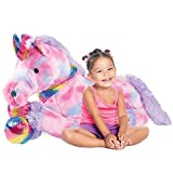 Best Choice Products 52in Kids Extra Large Plush Unicorn, Life-Size Stuffed Animal...