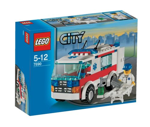 LEGO City 7890 - Krankenwagen