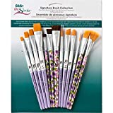 FolkArt One Stroke Signature Collection Paint Brush Set, 13 Piece