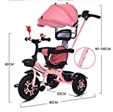 Zoom IMG-1 jinhh triciclo bambini 4 in