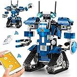 CIRO Stem Robot Toys Building Block Robot Bloques de construcción educativos con Control Remoto y App