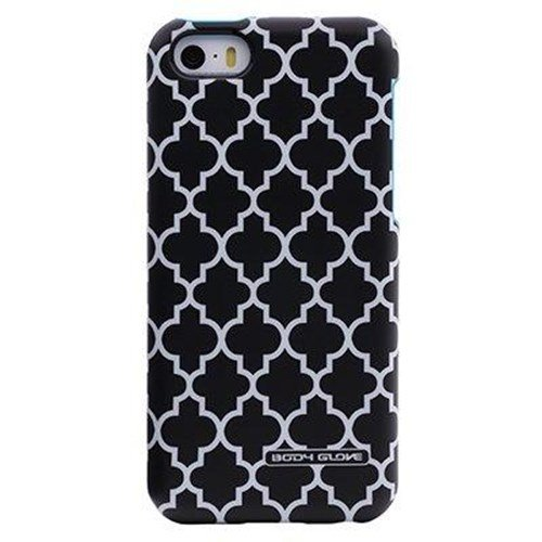 Body Glove iPhone 5/5S Splash - Cyan/Black Lattice