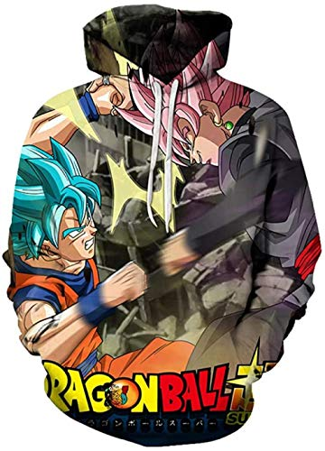 Sudaderas con Capucha Sudadera con Capucha Unisex Sudadera de Anime 3D Serie Sudadera con Capucha de Manga Larga Sudadera Cosplay Manga Diseño de Anime