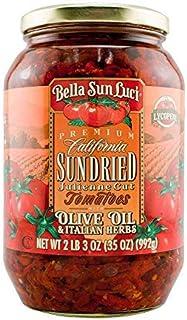 35 oz Bella Sun Luci Sun Dried Tomatoes Julienne Cut in Olive Oil (Original Version)