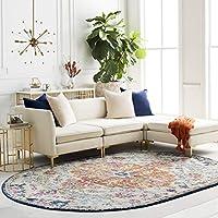 Artistic 6 feet 7 inch x 9 feet Oval Weavers Odelia Area Rug