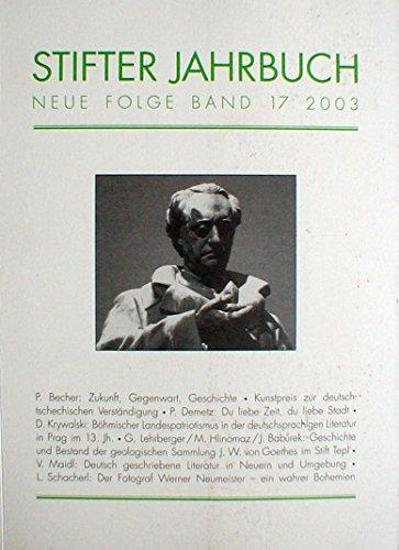 Stifter Jahrbuch. Neue Folge
