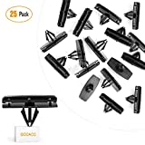 GOOACC 25PCS Fender Flare Moulding Clips for Jeep Liberty Rocker for Chrysler 55157055-AA, 55157065-AA Jeep Wrangler Jeep Liberty - 25Pack