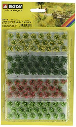 Noch 07010 - Grasbüschel, XL, blühend grün
