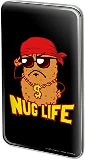Nug Life Chicken Nugget Funny Humor Rectangle Lapel Hat Pin Tie Tack Pinback