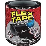 Flex Tape Rubberized Waterproof Tape, 4 Inch x 5 Feet, Black
