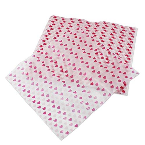 PsmGoods® 100 szt. wodoodporny olejoodporny papier woskowy do owijania ciasta chleba nieprzywierający