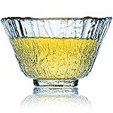 Taza Té Artesanal Crytal Glass - 2 Ideal Para Cualquier Bebida - Vaso De Café Grueso - 50 ml