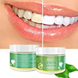 LtrottedJ Teeth Whitening Powde,r Natural Activated Lemon Whitening Tooth Teeth Powder