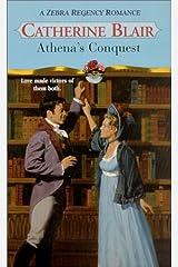 Athena's Conquest (Zebra Regency Romance) Mass Market Paperback
