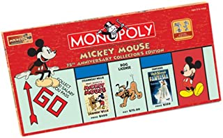USAOPOLY Mickey Mouse 75th Anniversary Monopoly