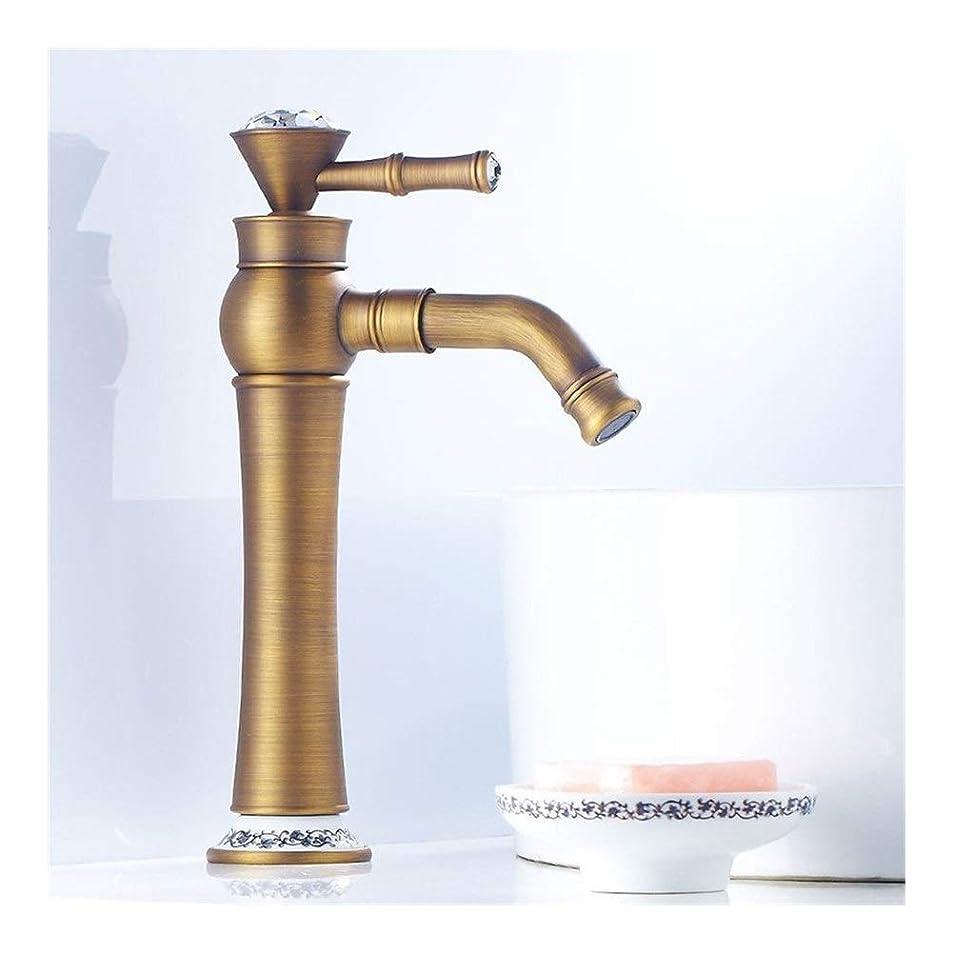 同情ことわざ治す美しいハンドル蛇口防錆流域の浴室の蛇口フラッシング穏健派