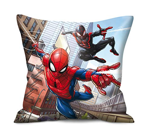 Marvel Spiderman deco knuffel kinderkussen 40 x 40 cm