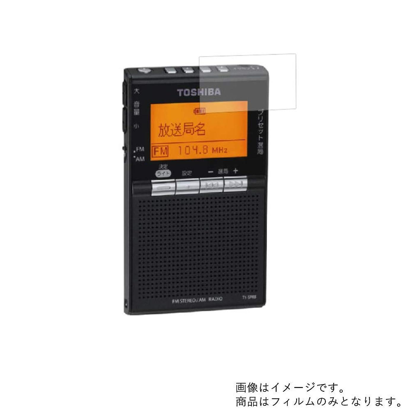 素晴らしさルーフ本を読む【2枚セット】Toshiba TY-SPR8 用【反射防止ノンフィラータイプ】液晶保護フィルム ギラツキなし