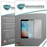 Slabo 2 x Film de Protection d'écran Compatible avec iPad Pro (9,7 écran Film No Reflexion Mat