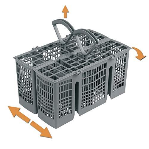 ORIGINAL Bosch Siemens 00418280 418280 Besteckkorb Korb Geschirrkorb 230 x 148 x 180 mm grau Geschirrspüler Spülmaschine