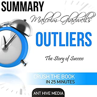 Malcolm Gladwell's Outliers: The Story of Success Summary audiobook cover art