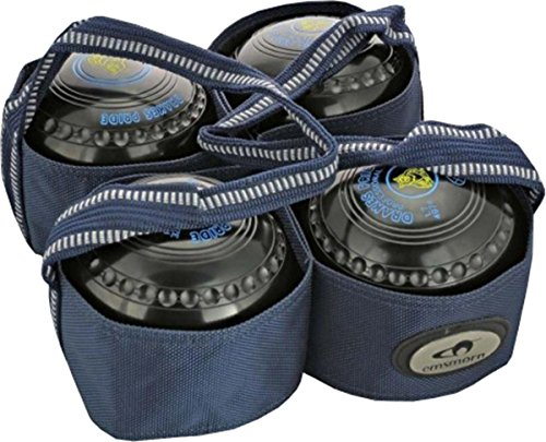 Carta Sport Outdoor Lawn Bowls Carry Bag - 4 Bowls Harness / Carrier