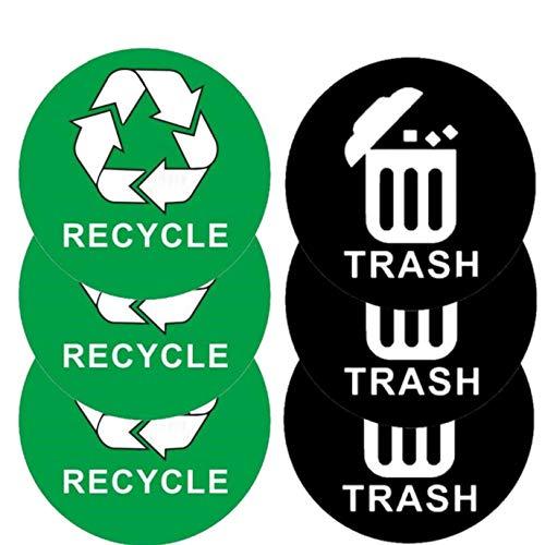 pegatina reciclaje fabricante Mountain View