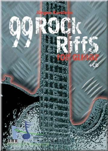 99 Rock-Riffs for Guitar - Gitarre Noten [Musiknoten]