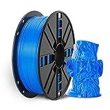NOVAMAKER PLA Plus (PLA+) Filament 1.75mm with 20g Cleaning Filament, Blue PLA Pro 3D Printer Filament Toughness Enhanced, Premium PLA 1kg Spool(2.2lbs), Dimensional Accuracy +/- 0.03mm