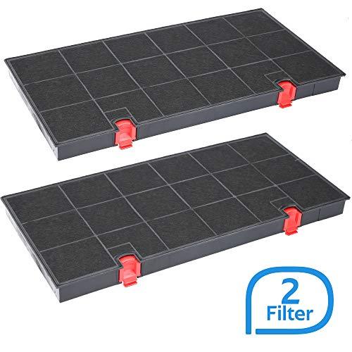 Aktivkohlefilter Dunstabzugshaube geeignet als Alternative für Kohlefilter 9029793669, für Dunstabzug von AEG, Whirlpool uvm. - 2 Stück