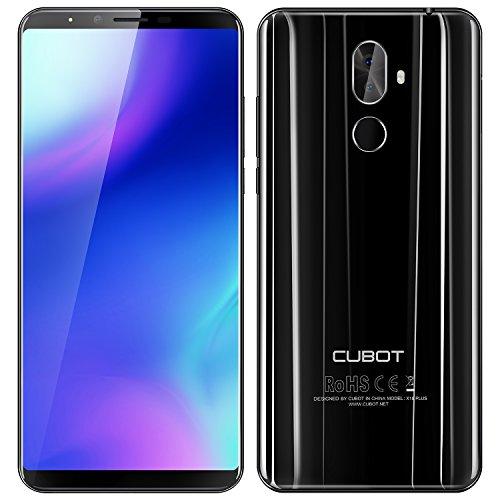 CUBOT X18 Plus 64GB Cellulare, Nero