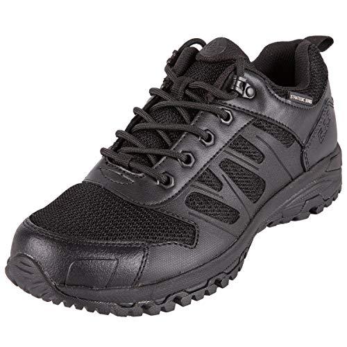 FREE SOLDIER Zapatillas Trekking Hombre Zapatillas Senderismo Tacticas al Aire Libre Zapatos Militares de Montañismo(Negro,46)
