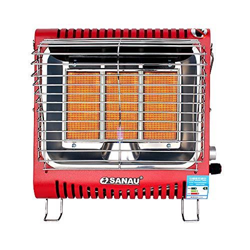 4200W Tragbare Wand-Gasheizung, Keramische Heizung, 3 Leistung, Kippschutz-Haushalts-Schnellheizofen (ohne Gastank)