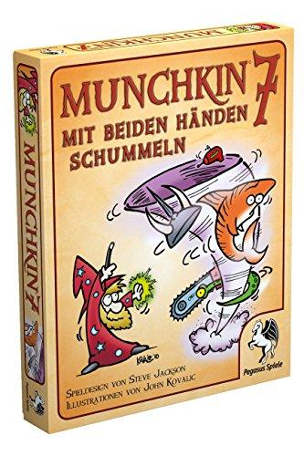 Pegasus Spiele 17217G - Munchkin 7, Mit beiden Händen schummeln