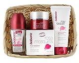 Babaria Rosa Mosqueta Crema Facial Hidratante, Nutritiva de Manos y Desodorante Roll-On - 225...