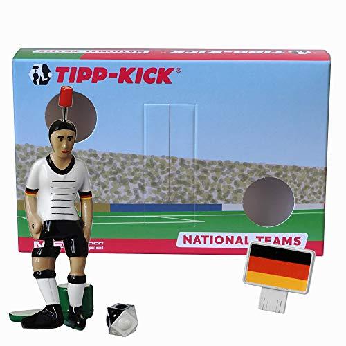 TIPP-KICK Deutschland-Box I Original Set Deutschland-Star-Kicker & Deutschland-Soundchip in der Torwandbox I Figur Spiel I Zubehör
