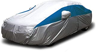 Titan Lightweight Car Cover (Bondi Blue) Compatible with Camry, Mustang, Accord and More. Waterproof Car Cover Measures 200 Inches and Includes a Driver-Side Zippered Opening.